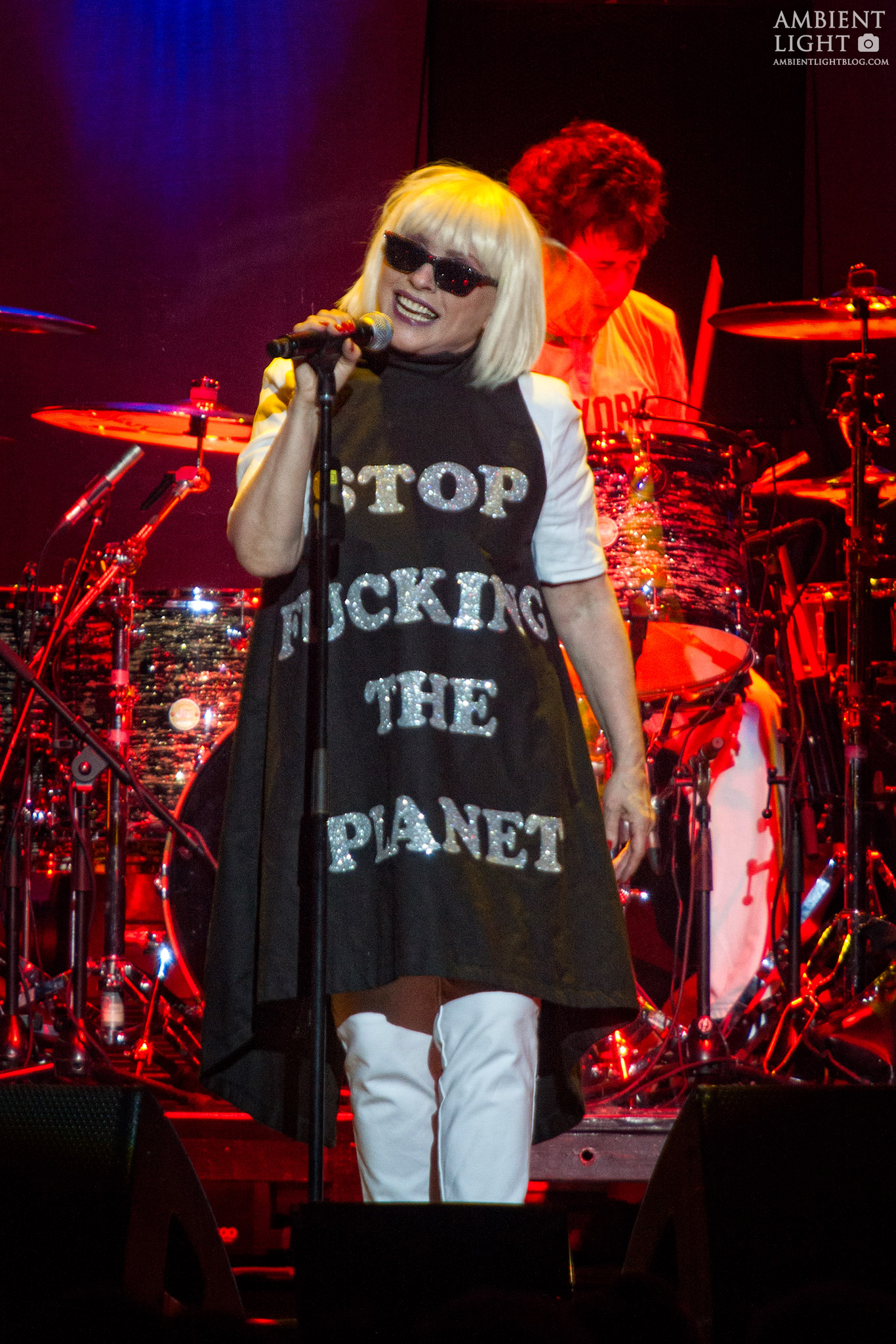 Blondie and Cyndi Lauper perform live in Auckland, 2017. Image by Doug Peters.