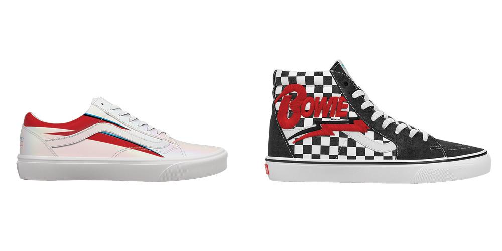 6841571215ddd Vans-x-David-Bowie-Footwear-Collection-Old-Skool-Aladdin-Sane-and-SK8-Hi -Checkerboard